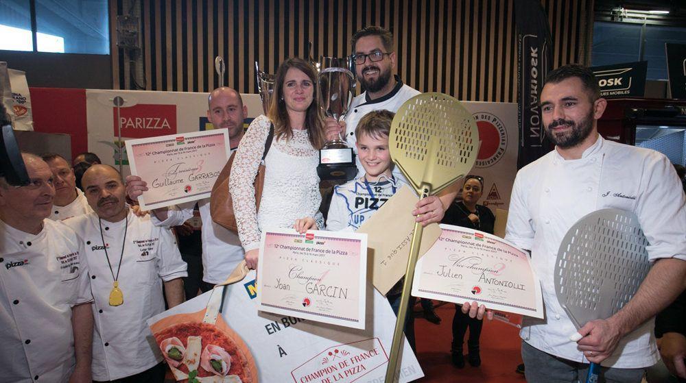 Champion de France de pizza.