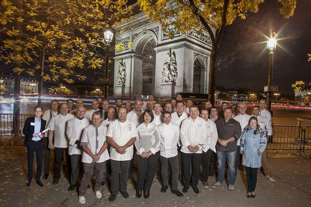 Cocottes et Tables distinguées réunies à Paris.