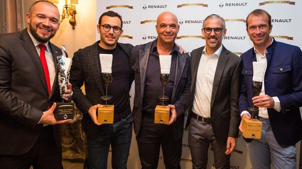 Guillaume Gomez, Paul Belmondo et les lauréats.