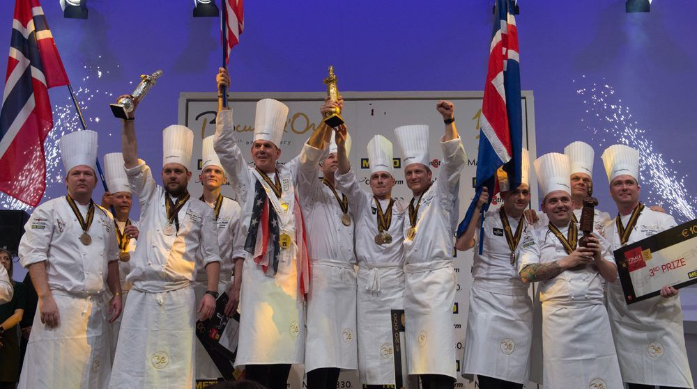 Le podium des Bocuse d'or