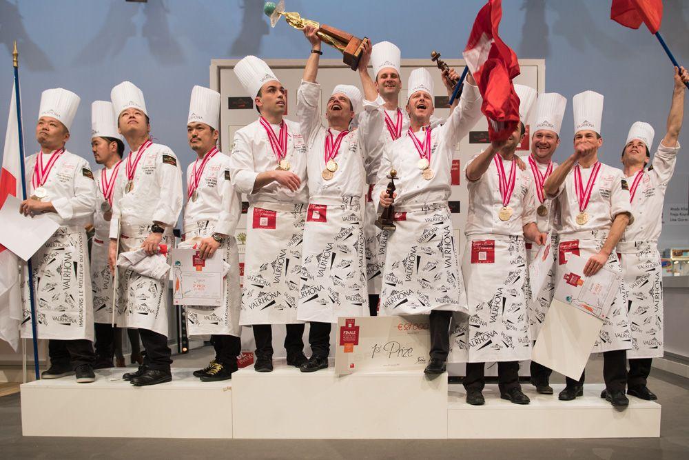 Coupe du monde de pâtisserie.